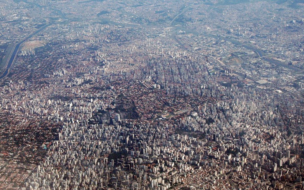 SaoPaulo City Sprawl